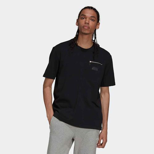 adidas RYV Erkek Siyah Tişört (H36247)