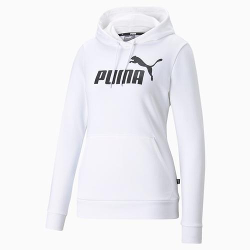 Puma Essentials Logo Kadın Beyaz Sweatshirt (586791-02)