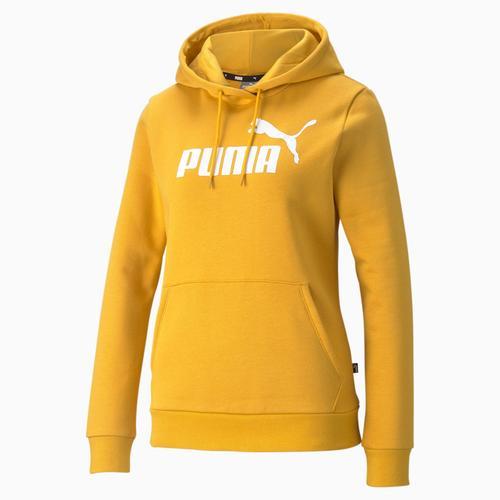 Puma Essentials Logo Mineral Kadın Sarı Sweatshirt (586797-37)