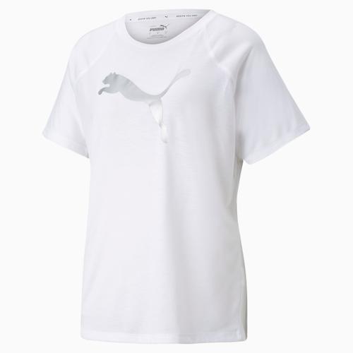 Puma Evostripe Tee Kadın Beyaz Tişört (589143-02)