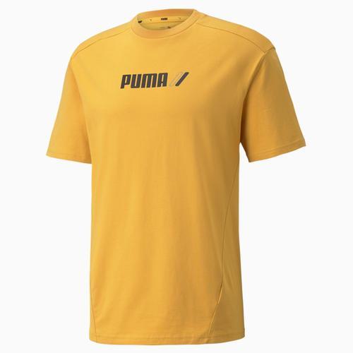 Puma Rad Cal Tee Mineral Erkek Sarı Tişört (589385-37)