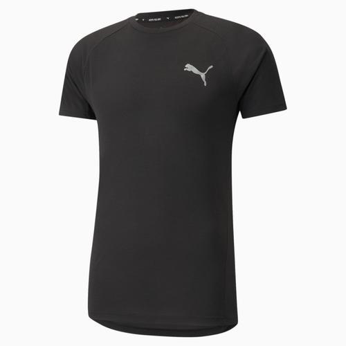 Puma Evostripe Tee Erkek Siyah Tişört (589417-01)