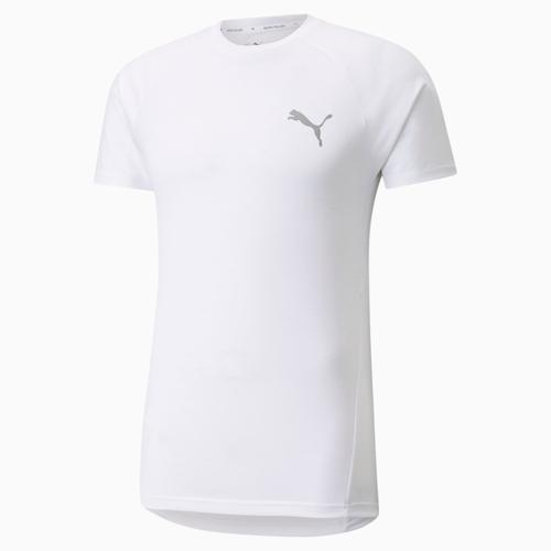 Puma Evostripe Tee Erkek Beyaz Tişört (589417-02)