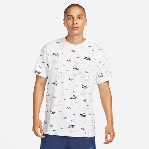 Nike Swoosh Erkek Beyaz Tişört (DJ1391-100)