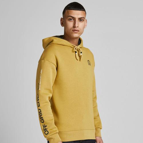 Jack & Jones Poul Erkek Sarı Sweatshirt (12194399-HMD)