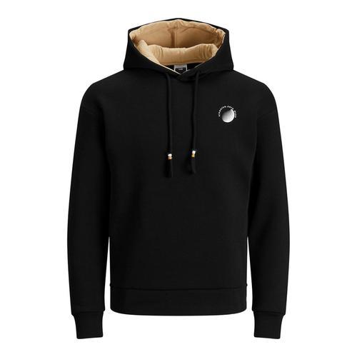 Jack & Jones Poul Erkek Siyah Sweatshirt (12194399-B)