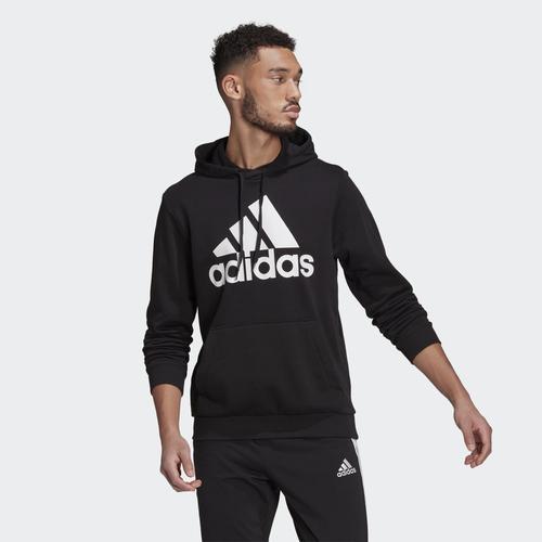 adidas Essentials Big Logo Erkek Siyah Sweatshirt (GK9540)