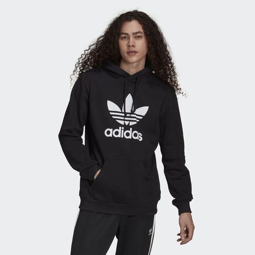 adidas Trefoil Erkek Siyah Sweatshirt (H06667)