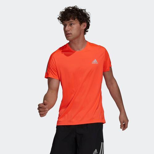 adidas Own The Run Tee Erkek Turuncu Tişört (H34491)