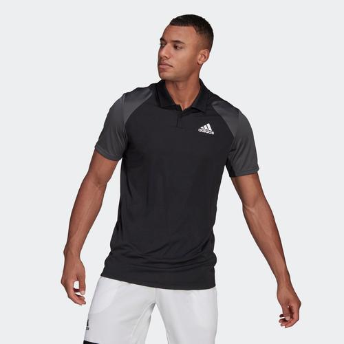 adidas Club Tennis Erkek Siyah U.S. Polo Assn. Tişört (GL5437)
