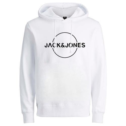 Jack & Jones Minister Erkek Beyaz Sweatshirt (12201856-W)