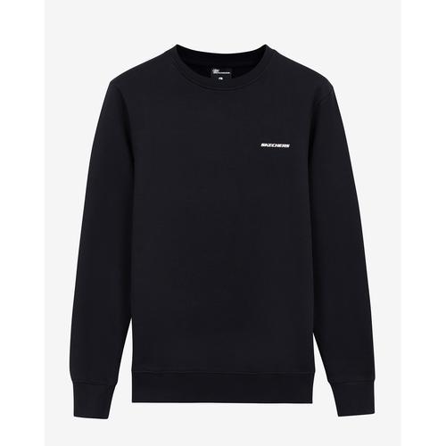 Skechers New Basics Erkek Siyah Sweatshirt (S212265-001)