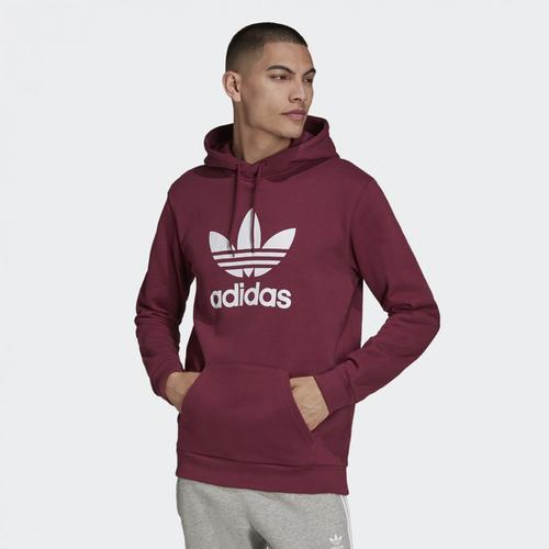 adidas Trefoil Erkek Bordo Sweatshirt (H06666)