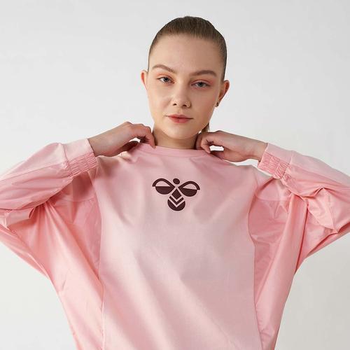 Hummel Scotchland Kadın Pembe Sweatshirt (921325-3026)