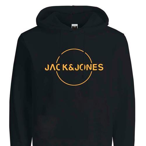 Jack & Jones Minister Erkek Siyah Sweatshirt (12201856-TAP)