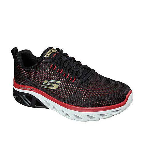 Skechers Glide Erkek Siyah Spor Ayakkabı (232270-BKRD)