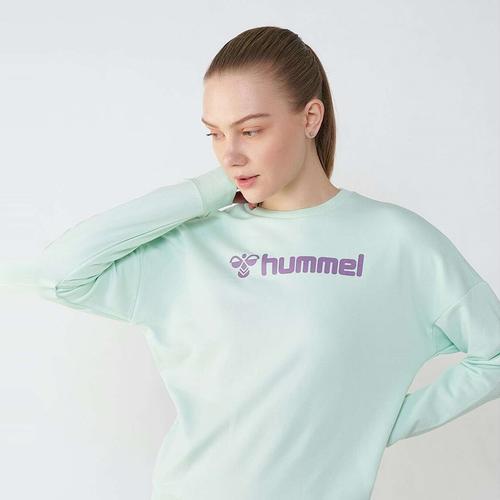 Hummel Naomi Kadın Turkuaz Sweatshirt (921113-6008)