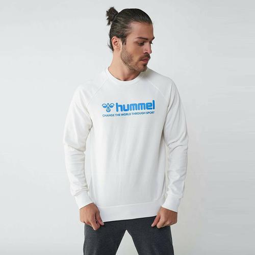 Hummel Numas Erkek Beyaz Sweatshirt (921116-9003)