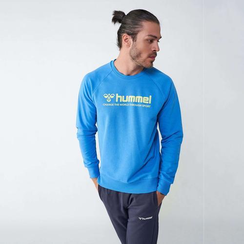 Hummel Numas Erkek Mavi Sweatshirt (921116-7620)
