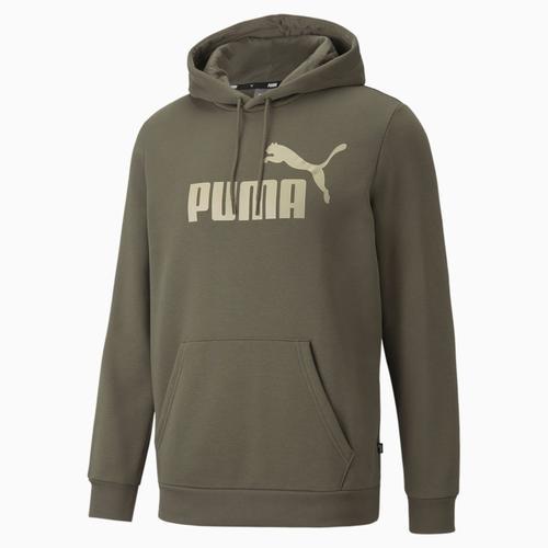 Puma Essential Erkek Yeşil Sweatshirt (586-687-44)