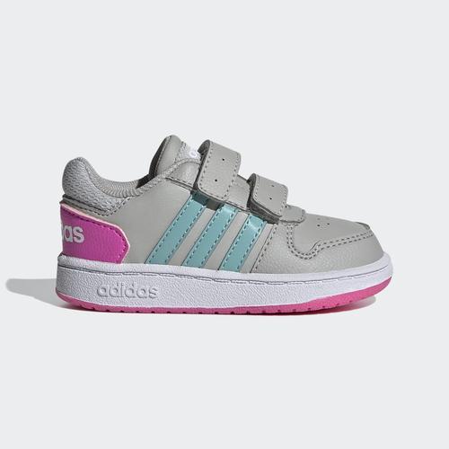 adidas Hoops 2.0 Çocuk Gri Spor Ayakkabı (H01554)