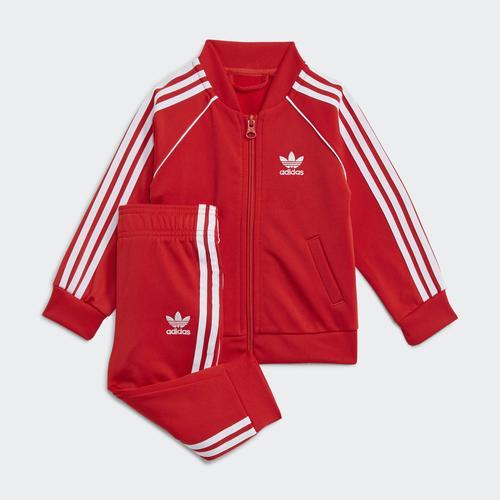 adidas Adicolor Çocuk Kırmızı Eşofman Takımı (H35600)