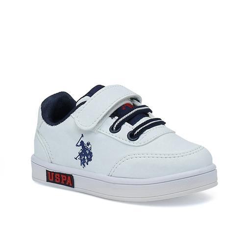 U.S. Polo Assn. Cameron Çocuk Beyaz Spor Ayakkabı (101033365)