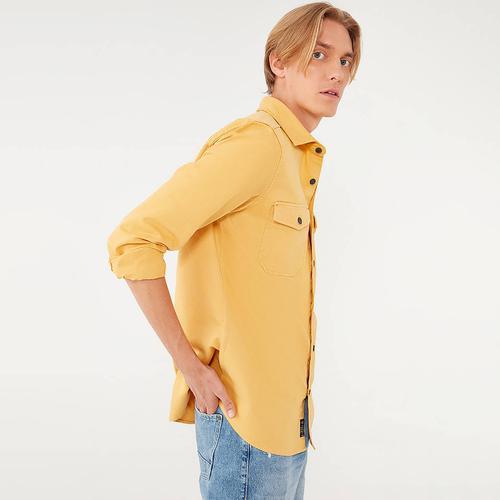 Mavi Erkek Sarı Gömlek (021937-34754)