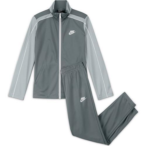 Nike Futura Poly Cuff Çocuk Gri Eşofman Takımı (DH9661-084)