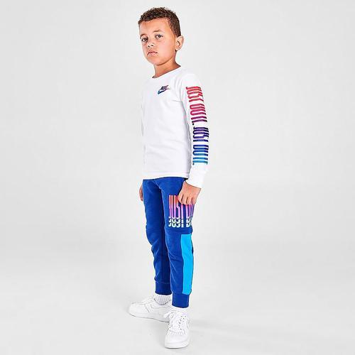 Nike Rise Fleece Çocuk Mavi Eşofman Altı (86H992-U1A)