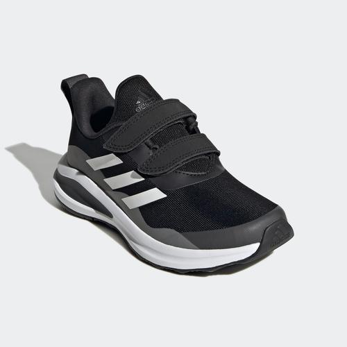 adidas FortaRun Double Strap Çocuk Siyah Koşu Ayakkabısı (H04166)