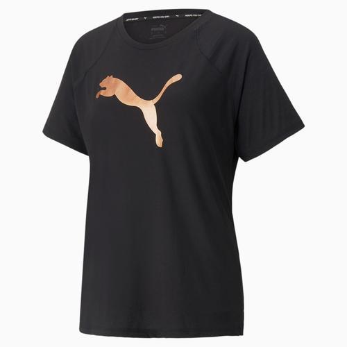 Puma Evostripe Tee Kadın Siyah Tişört (589143-51)